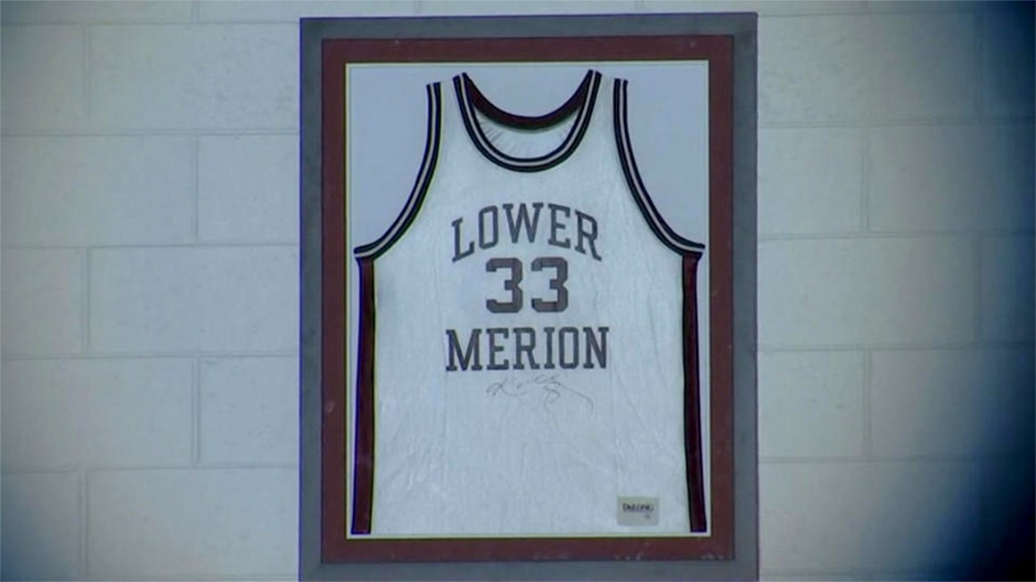 N.Y. Times: Kobe's Stolen Jersey Unveiled at Lower Merion High School Ceremony Honoring Late Star