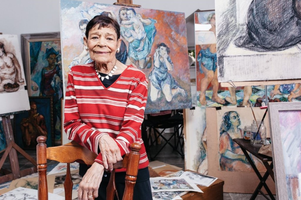 West Chester Resident, Beloved Artist Dies at 93