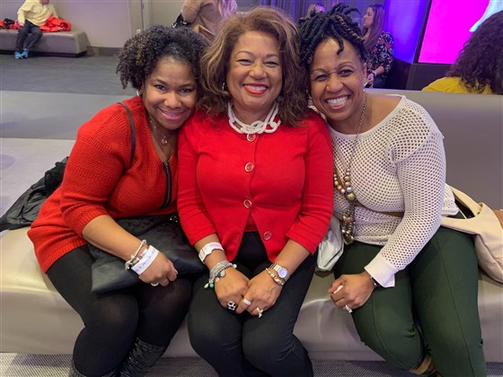 Oprah Winfrey's Superfan from West Chester Travels to New York to See Her on the TODAY Show