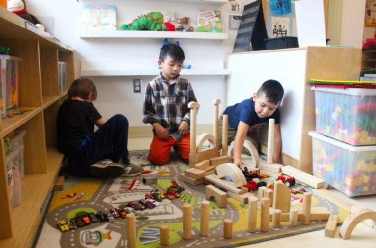 Local Children Benefitting from the Return of Play in Kindergartens