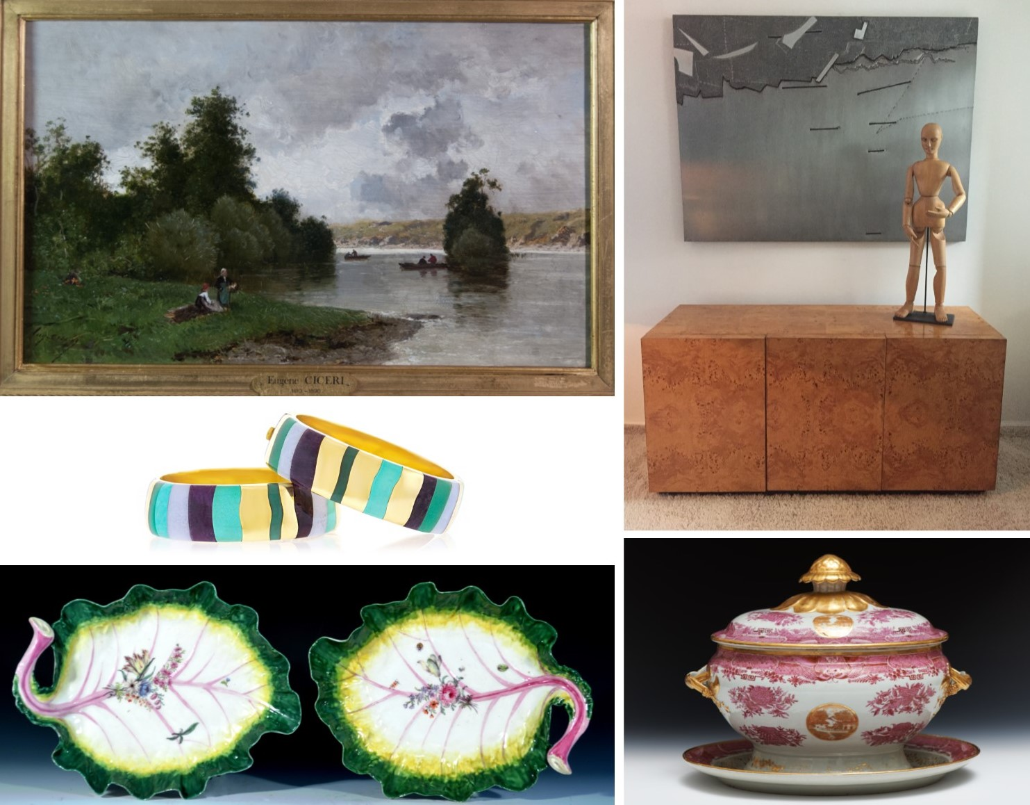 New Exhibitors Set to Bring New Energy to Expanded Chester County Antiques and Art Show