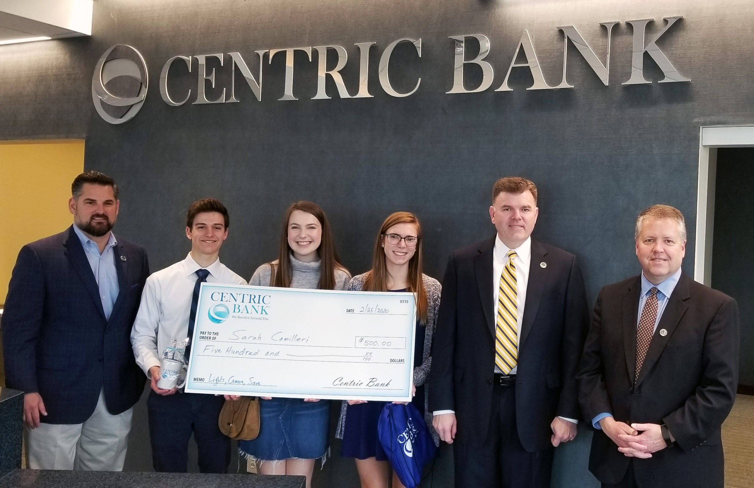 Centric Bank Recognizes Participants, Winners of Video Contest for High School Students