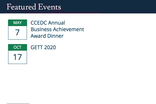 See More CCEDC Events