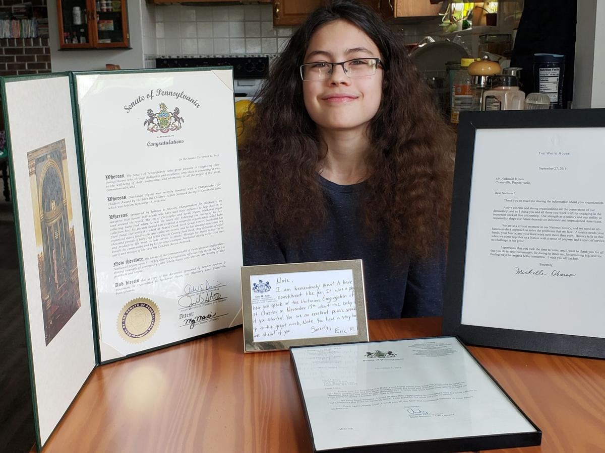 Local Sixth-Grader Earns Recognition from Michelle Obama for His Philanthropic Efforts