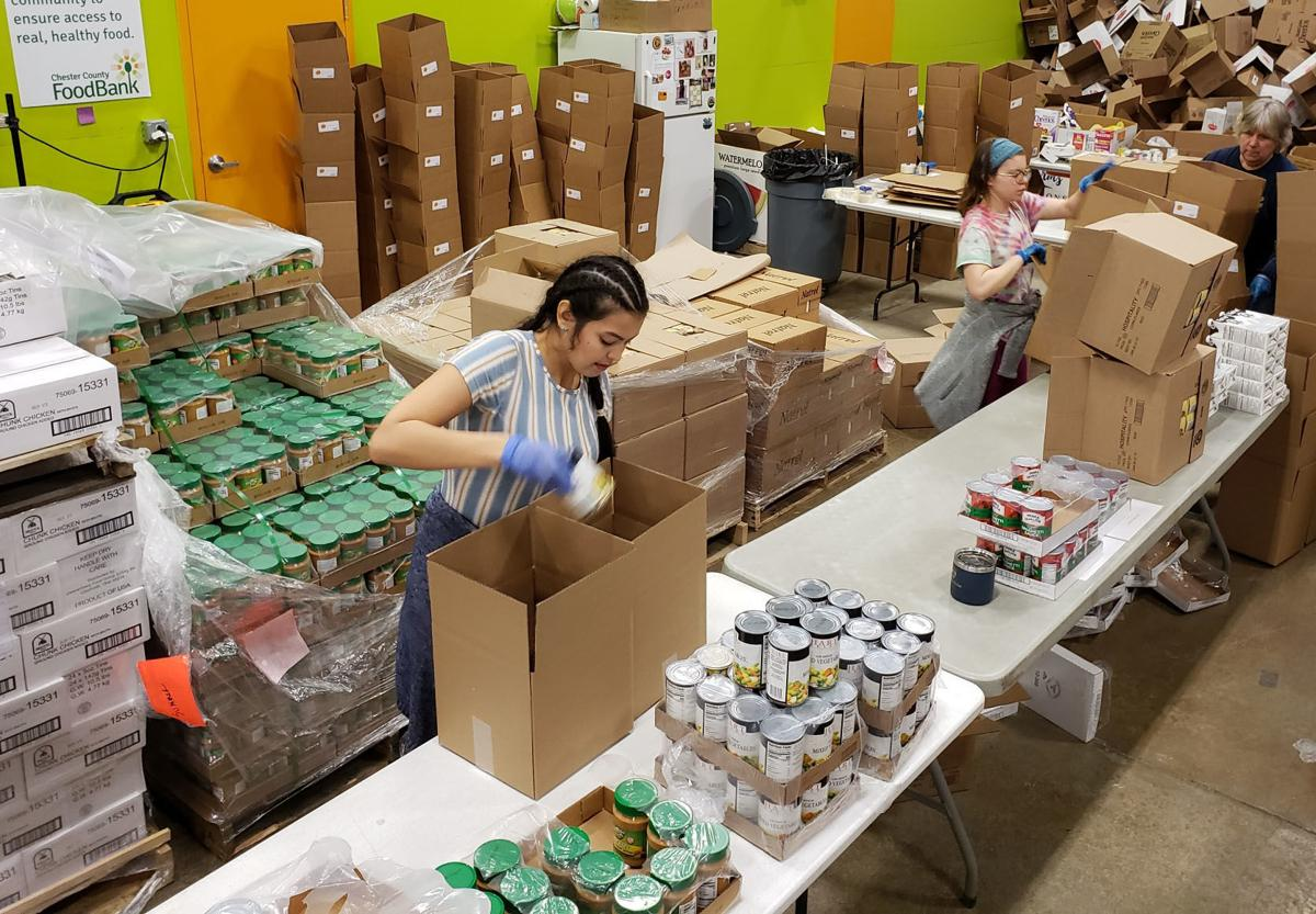 Impact of Food Hoarding Being Felt at Chester County Food Bank