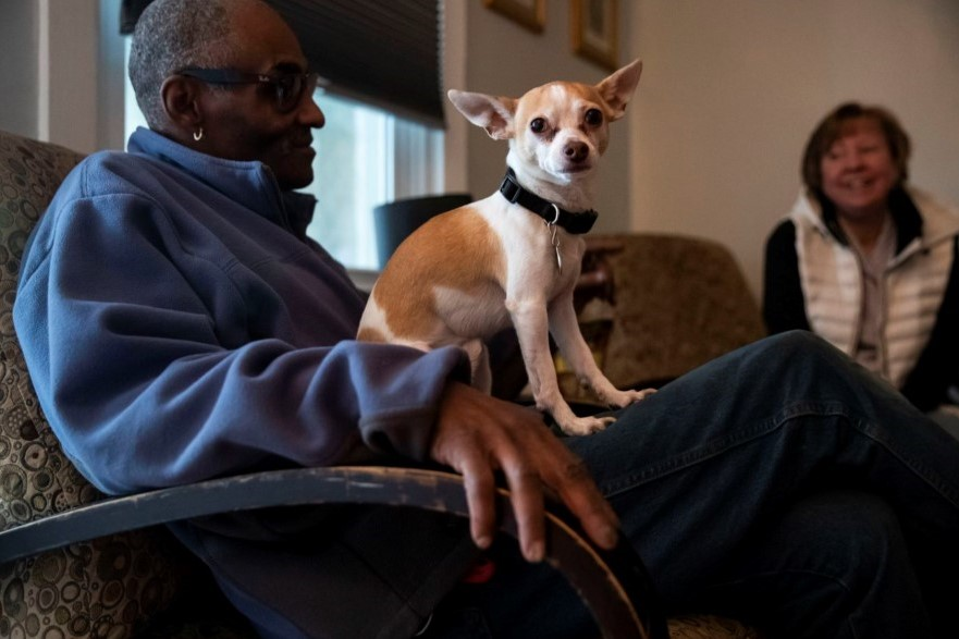 Program Helps Low-Income Elders in Three Chester County Senior Centers Feed Their Pets