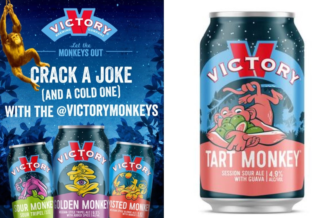 Victory Introduces Latest Line of Its Popular Monkey Family of Beers with Humorous Marketing Campaign