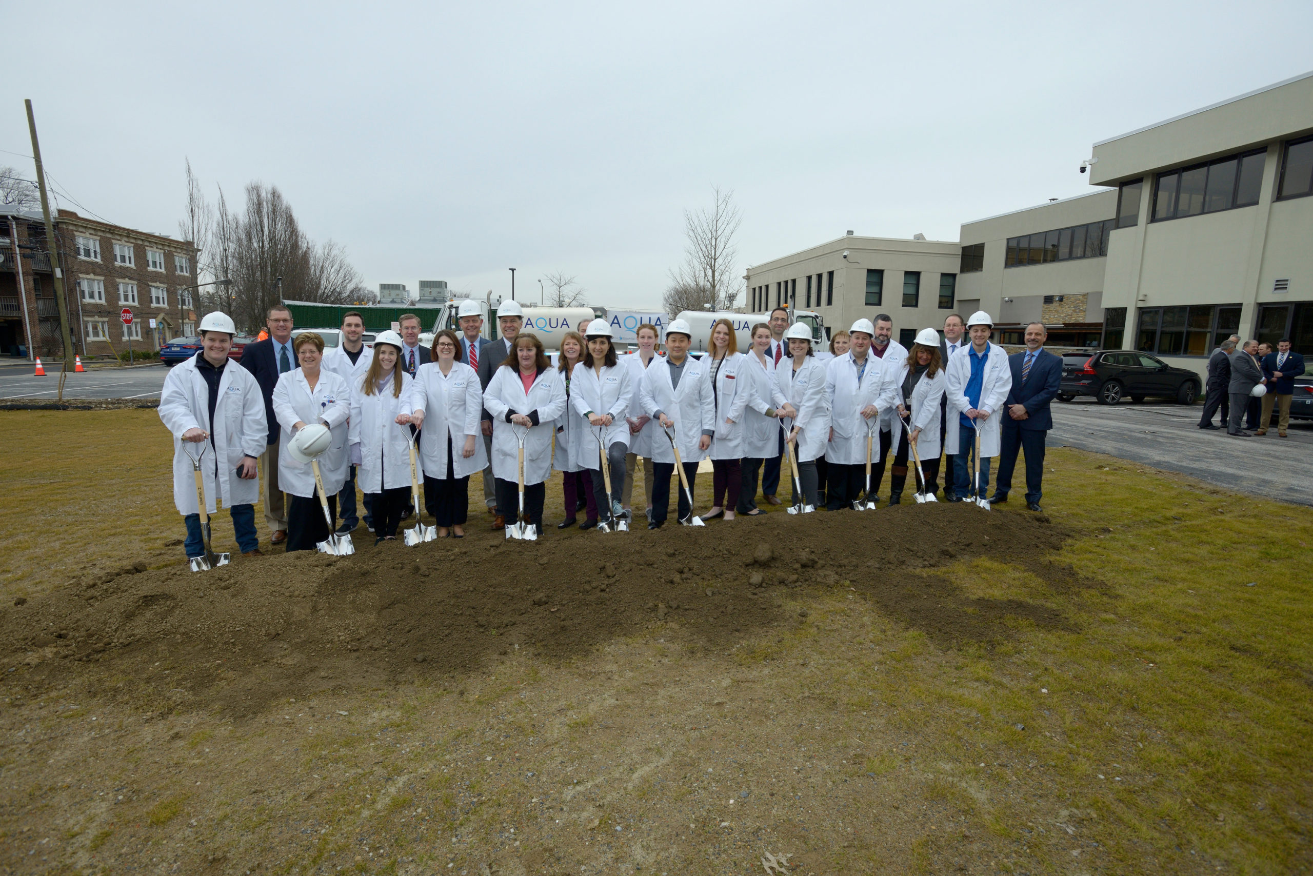 Essential Utilities Breaks Ground on New Water Quality Lab to Serve Aqua Customers