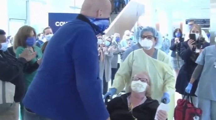 Chester County Hospital Celebrates as Local Woman Beats COVID-19 After Three Weeks in ICU