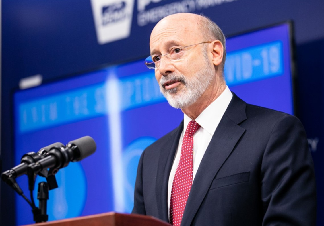 Gov. Wolf Extends School Closure for Remainder of Academic Year