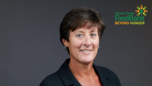 Andrea Youndt, CEO of Chester County Food Bank