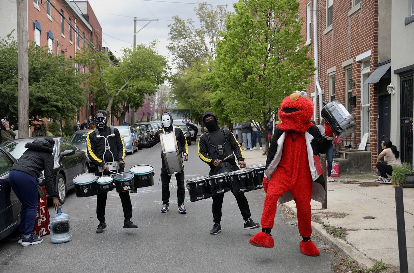 West Chester-Based Entertainment Production Company Donates New Drums to Philly Drumline