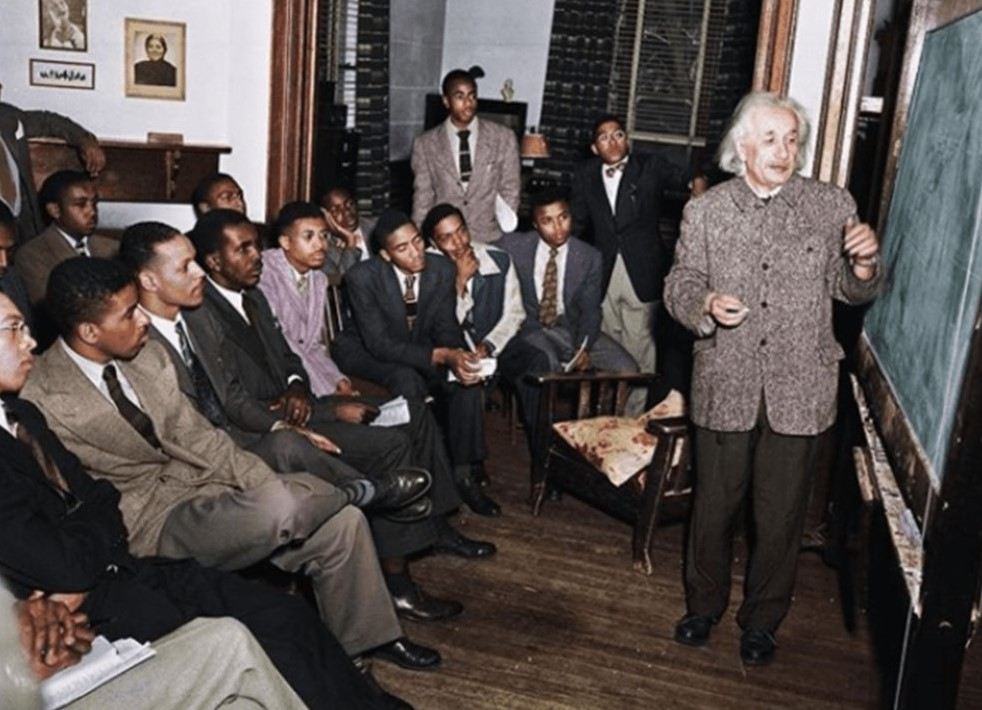 Remembering Albert Einstein's Visit to Lincoln University in 1946