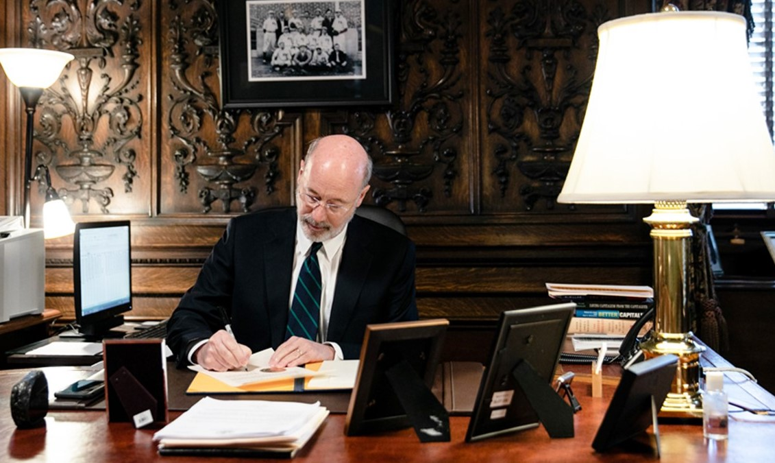 Gov. Wolf Eases Restrictions on Real Estate Industry