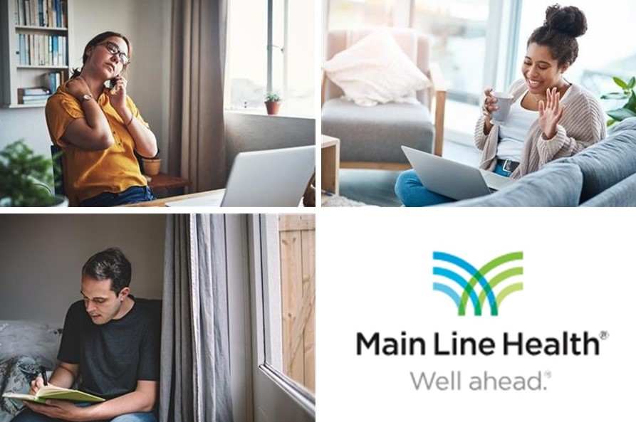 Main Line Health Offers Tips on Managing Stress When You Can't Leave Home