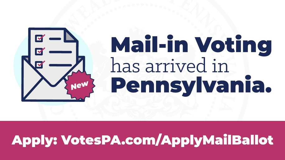 3 Options to Get A Mail-in Ballot in Chester County