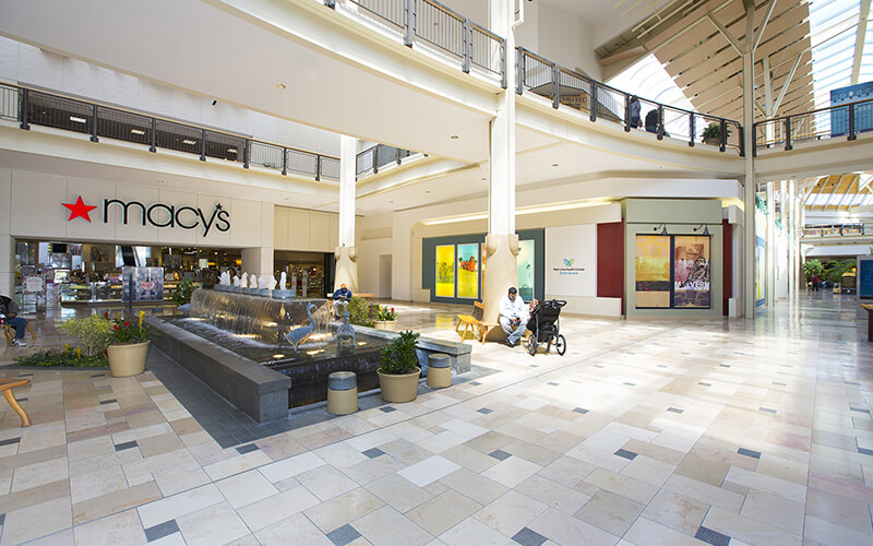 """At Exton Square Mall, Free Masks and Hand Sanitizer Stations Herald New """"Green"""" Shopping Experience"""