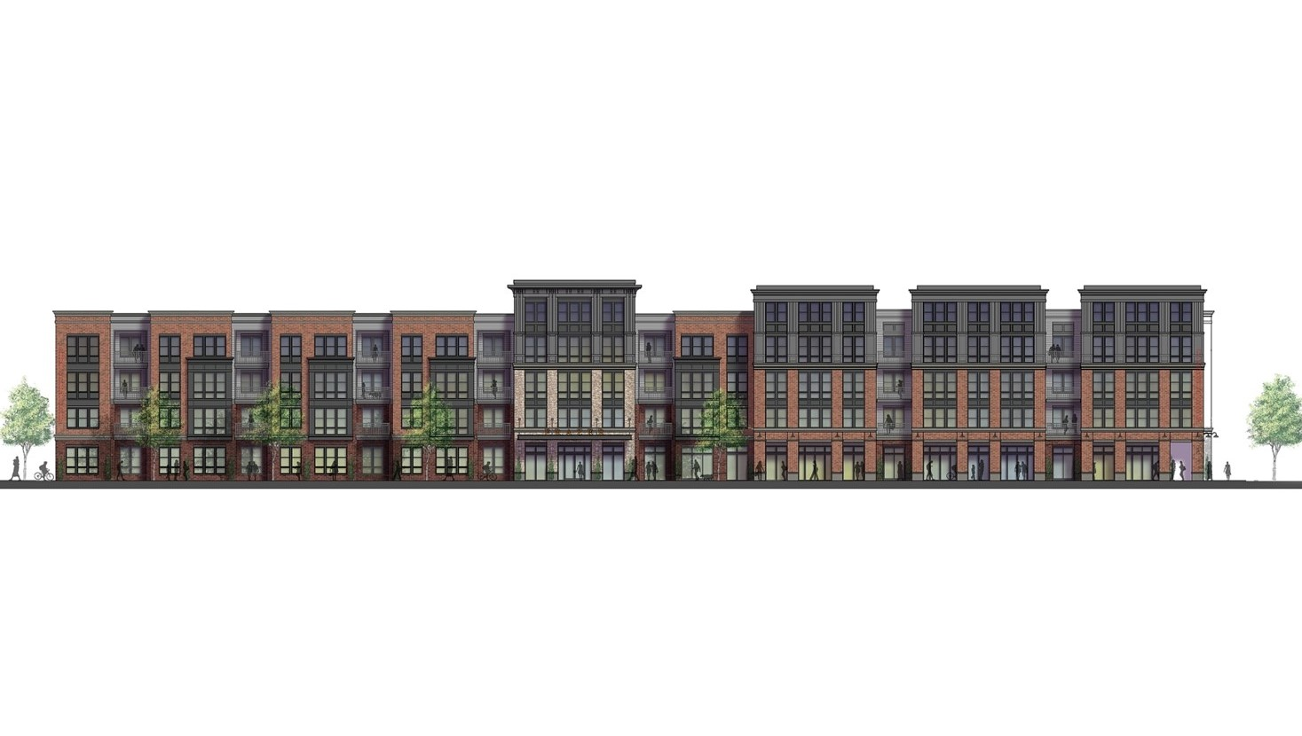New Apartment Complex Coming to 'Sleepy, Skipped Over' Stretch of Lancaster Avenue in Malvern