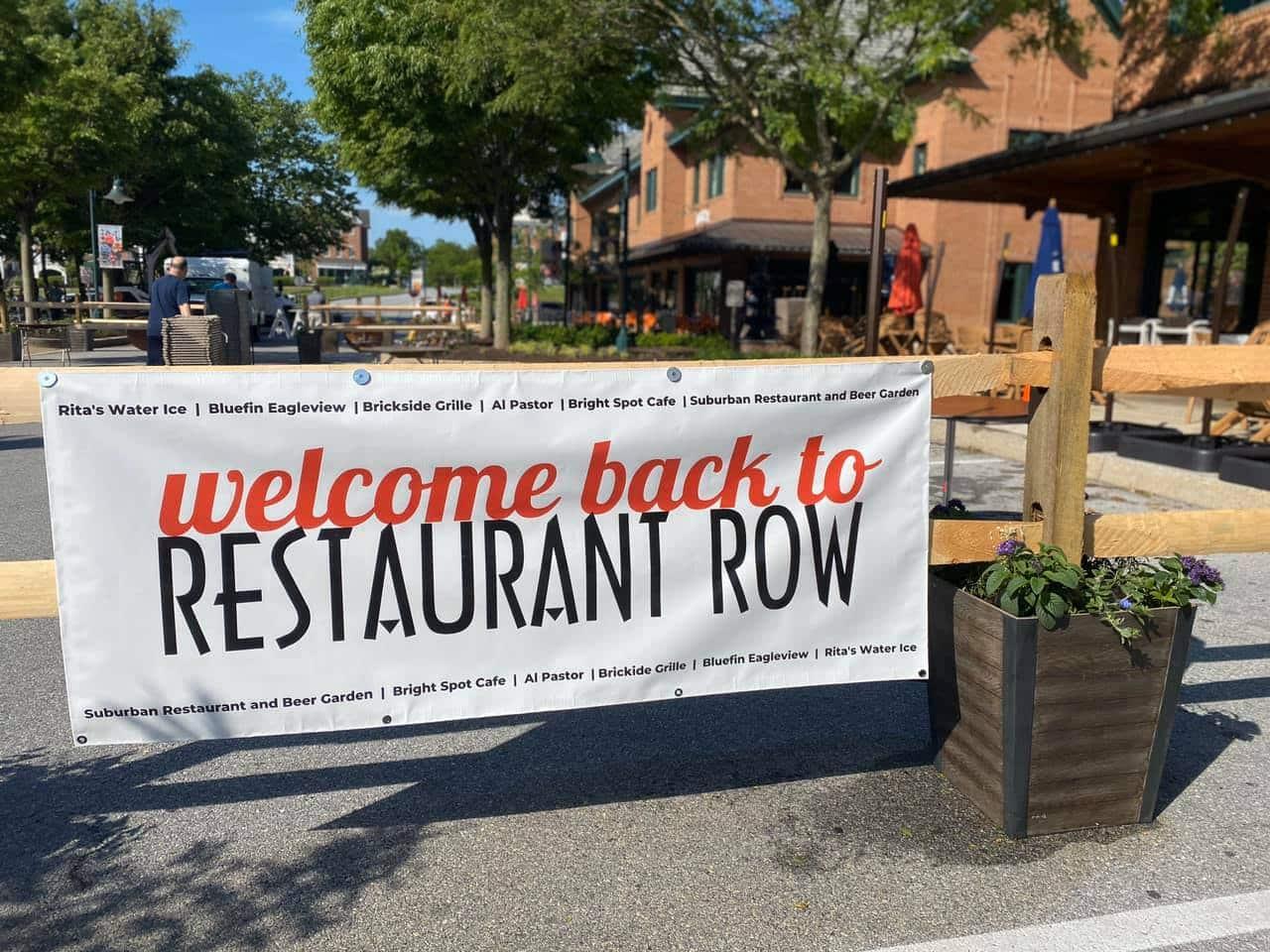 Eagleview Town Center Prepares for Al Fresco Dining