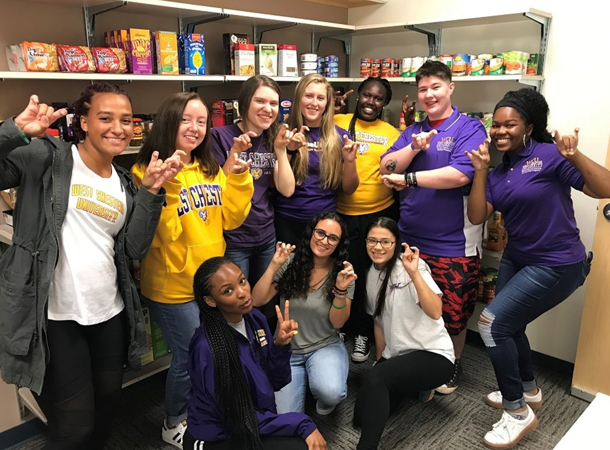 WCU's Resource Pantry Receives Gateway to Equity Award