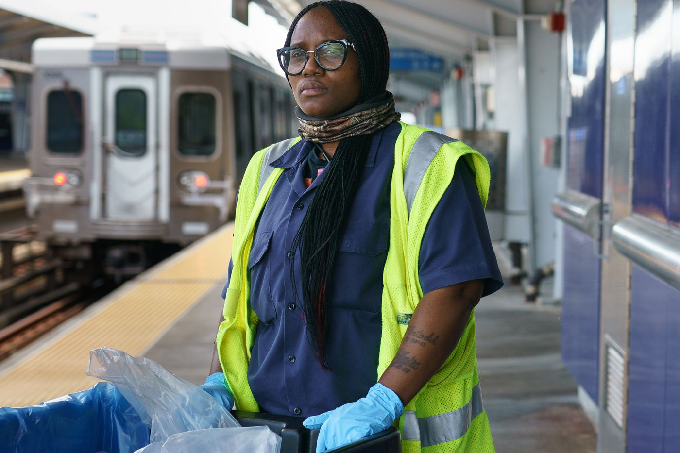 This Army of SEPTA Cleaners Vigilant Against Coronavirus to Protect Riders