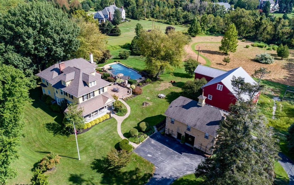Malvern Bank House of the Week: Estate with Lovely Outbuildings on Four Private Acres in Malvern