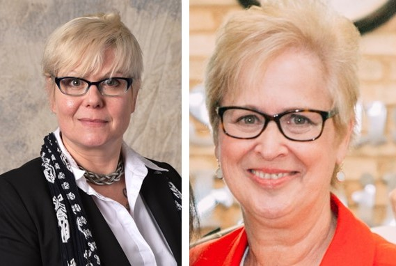 Two Harcum Professors Receive Highest Teaching Honors Conferred by the College