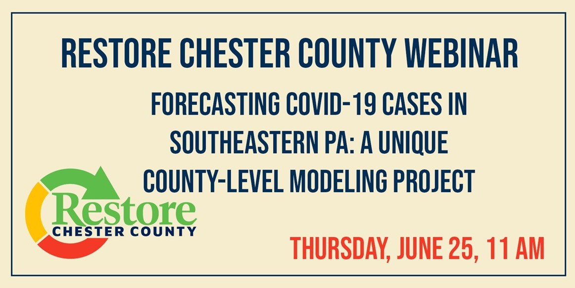 County Continues Webinar Series on Thursday with 'Forecasting COVID-19 Cases in Southeastern PA'