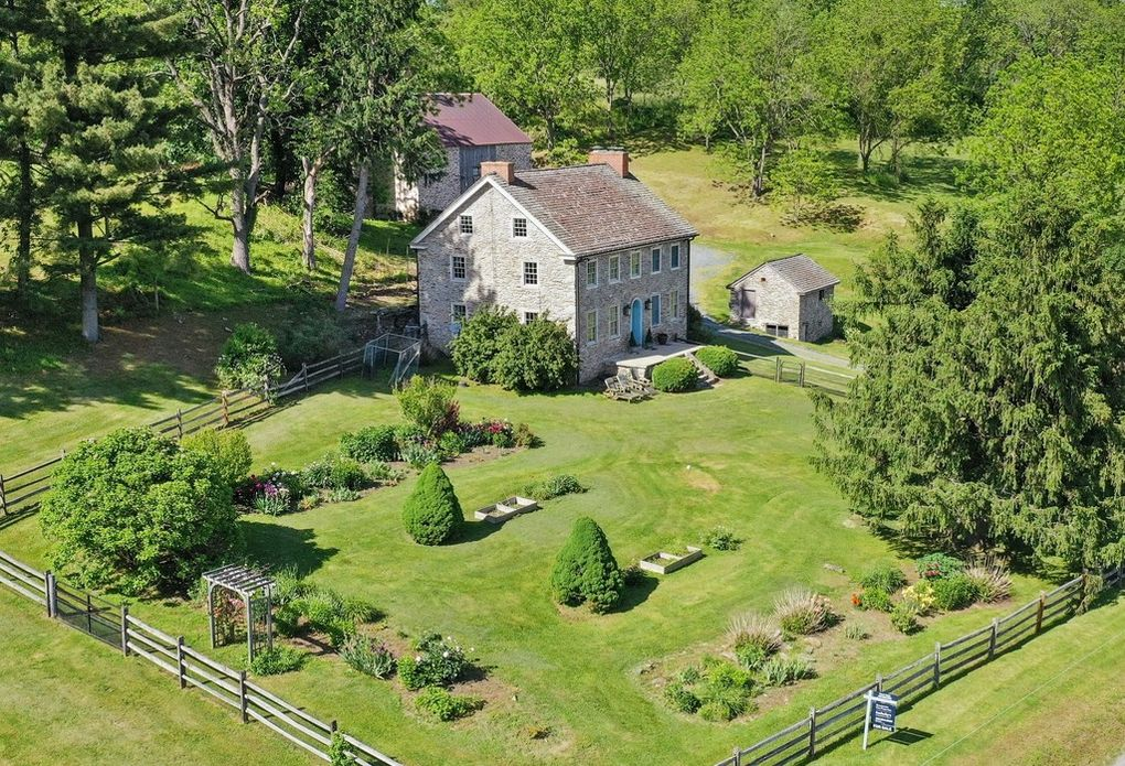 Malvern Bank House of the Week: Stone Farmhouse in Coatesville an Open-Space Treasure