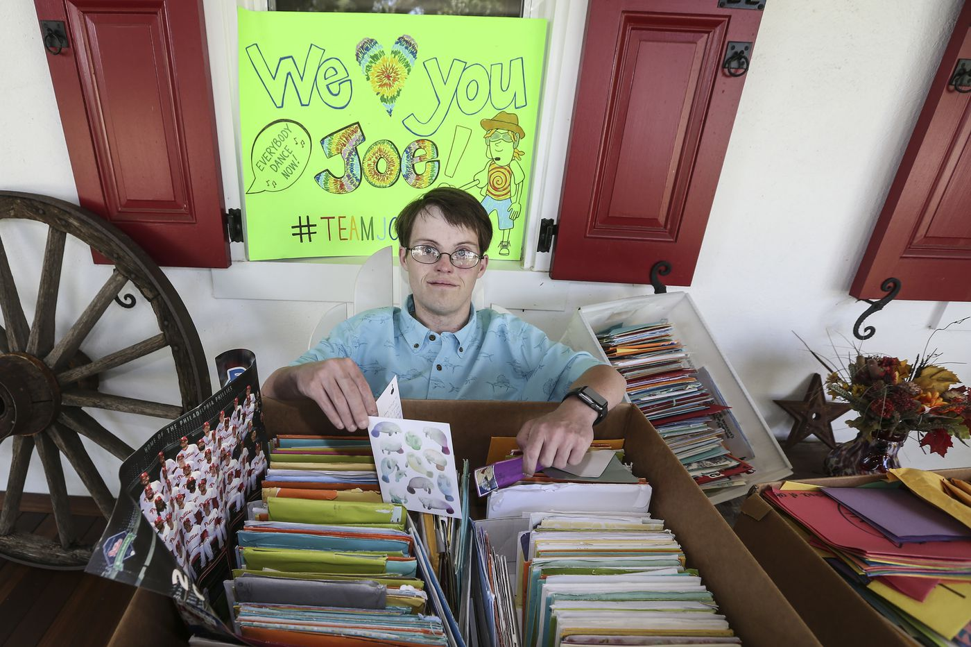 Local Man with Down Syndrome Awaiting Double-Organ Transplant Receives Thousands of Cards from Strangers