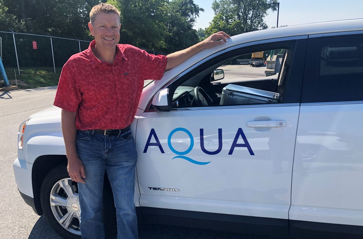 Aqua Pennsylvania Promotes Nottingham Resident to Maintenance Manager