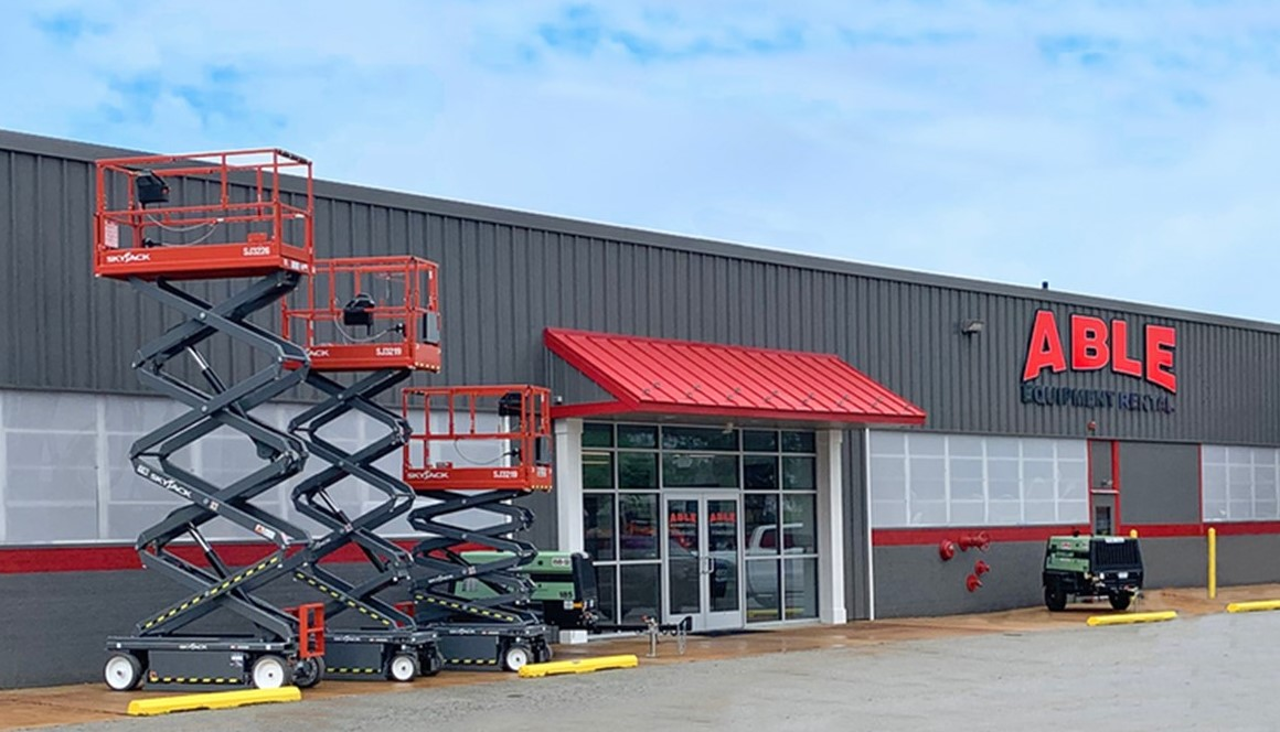 Construction Equipment Company Opens West Chester Branch in Building Once Leased by Schramm