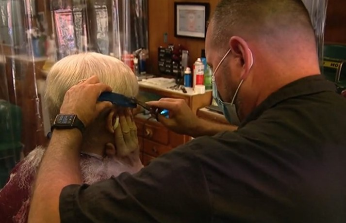 Century-Old Barber Shop in Kennett Square Adds Coronavirus to List of Horrors It Has Survived