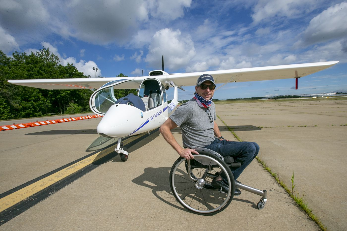 The Skies Beckoned for This Local Pilot, and a Disability Wasn't Going to Stop Him