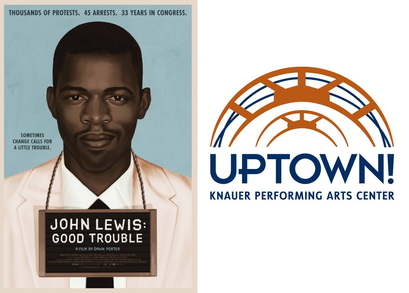 Uptown! to Open Theater on Monday for Free Viewing of New Documentary on Civil Rights Hero
