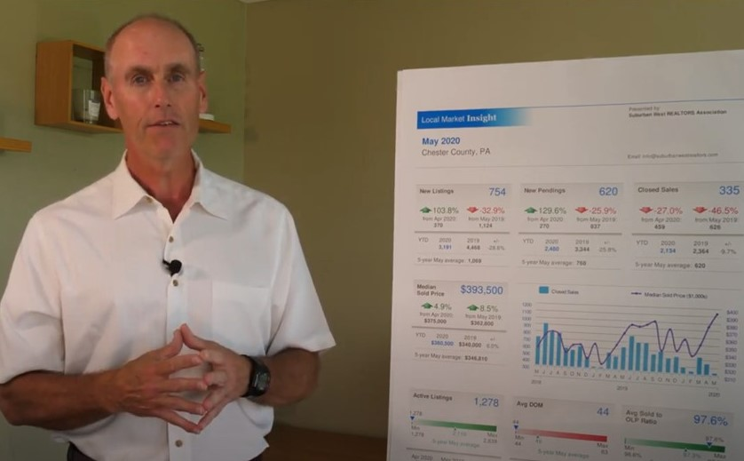 RE/MAX's Michael Diggin Analyzes Chesco's Housing Market as It Starts to Heat Up After Quarantine