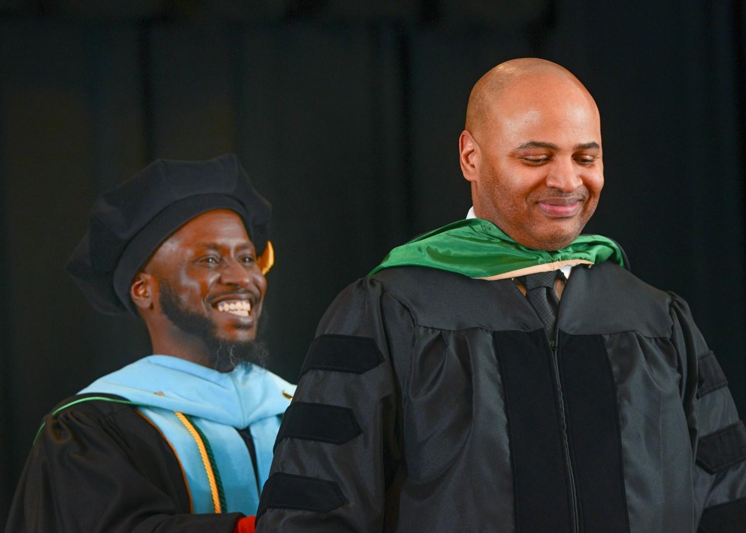 Wilmington University Alumnus Richard Johnson's No-Nonsense Attitude Has Served Him Well