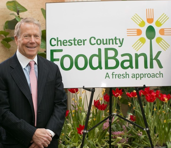Chester County Food Bank Returns to Its Roots as Familiar Face Again Steps into Role of Board Chair