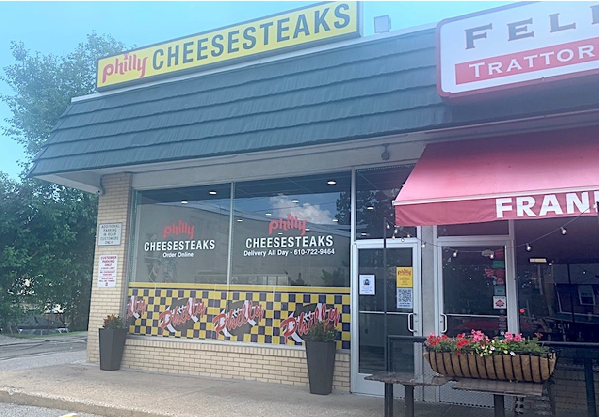 Phoenixville Man Brings His Renowned Philly Cheesesteaks to Berwyn