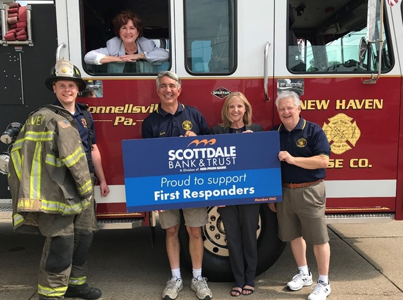 Mid Penn Bank Contributes $22,000 Through First Responders Donation Program
