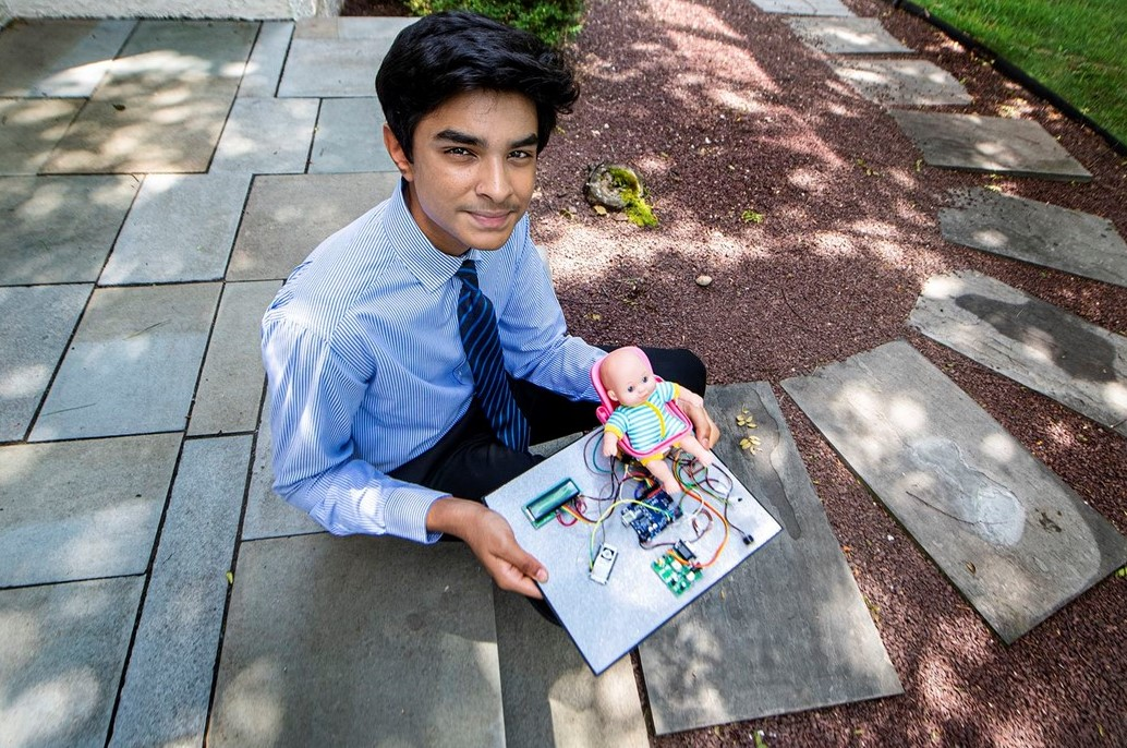 Unionville High School Student's Invention Earns National Recognition