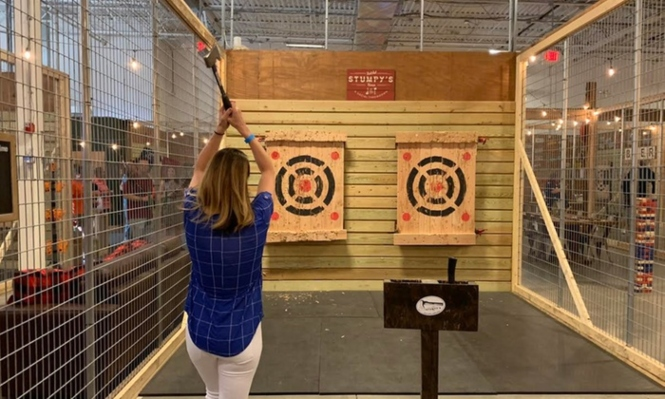 Axe-Throwing Venue Adds West Chester's First Self-Pour Beer Wall