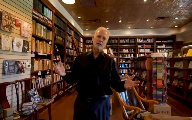Wellington Square Bookshop Owner Extols Virtues of Independent Bookstores in New Video