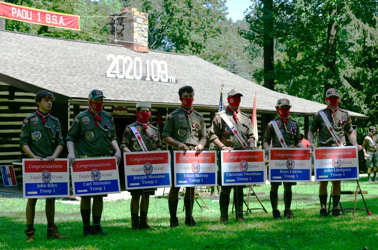 Chester County Council Gets Creative in Honoring This Year's Eagle Scouts