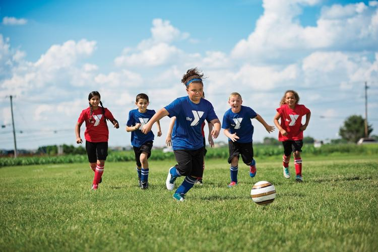 Youth Soccer Kicks Off This Fall at the YMCA with New Health, Safety Measures