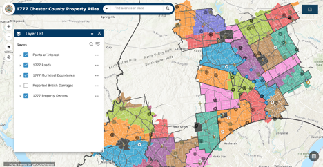 Who Owned Your Property in 1777? Chester County Unveils Interactive Tool to Help You Trace It