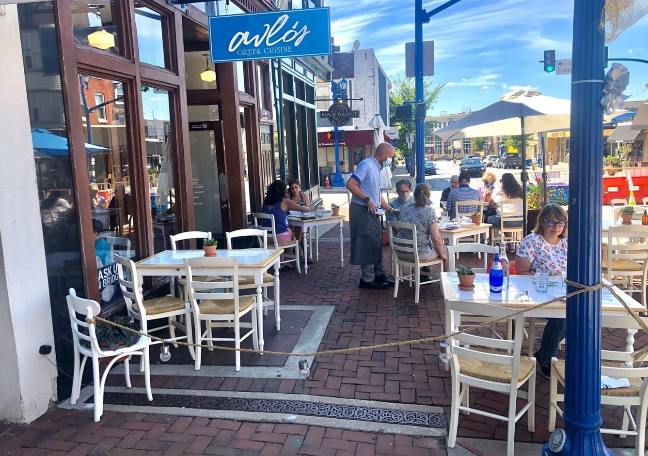 Pair of Chester County Restaurants Acclaimed for Their Outdoor Dining