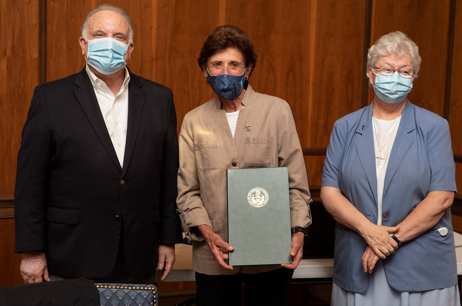 State Sen. Dinniman Presents Special Citation to Immaculata in Recognition of Its Centennial