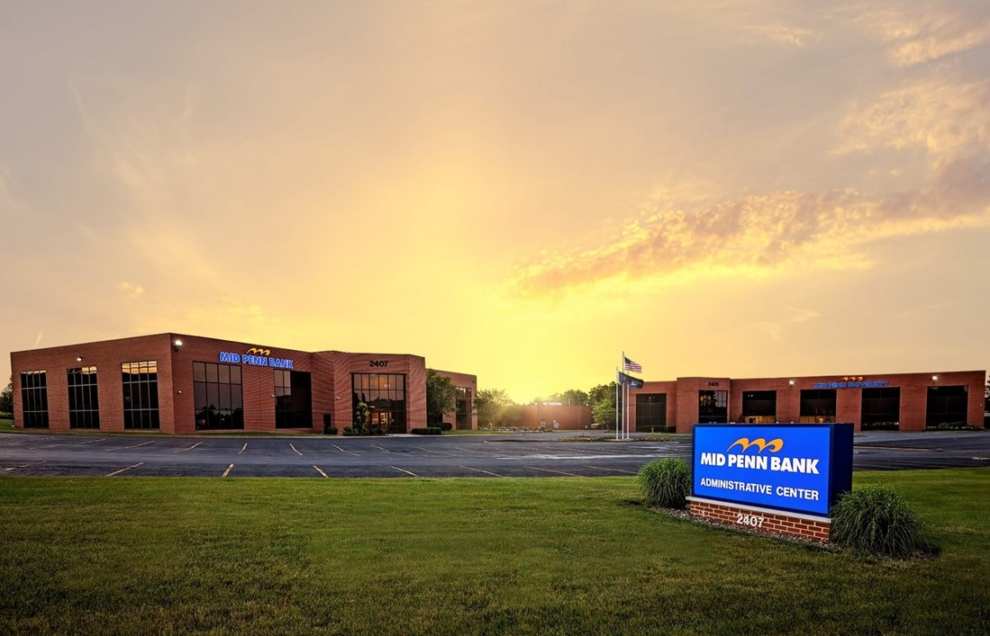 Mid Penn Bank Announces Retail Consolidation Plan