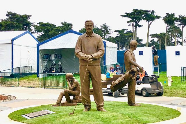 Local Artist's Sculpture Makes It to PGA Championship in San Fran on Time … Barely